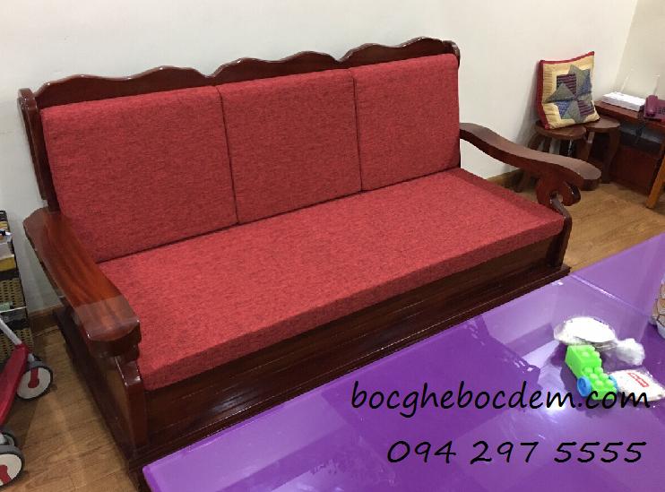 May nệm ghế gỗ Hà Nội đẹp chất lượng tại Hà Nội