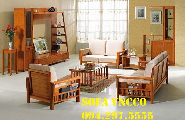 Công trình đệm ghế gỗ tại quận Bắc Từ Liêm