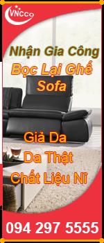 Dịch vụ bọc ghế sofa giá rẻ