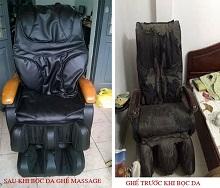 Biến Hóa Ghế Massage Nhìn Như Mới - Dịch Vụ Bọc Lại Ghế Massage tại Quận Cầu Giấy, Hà Nội