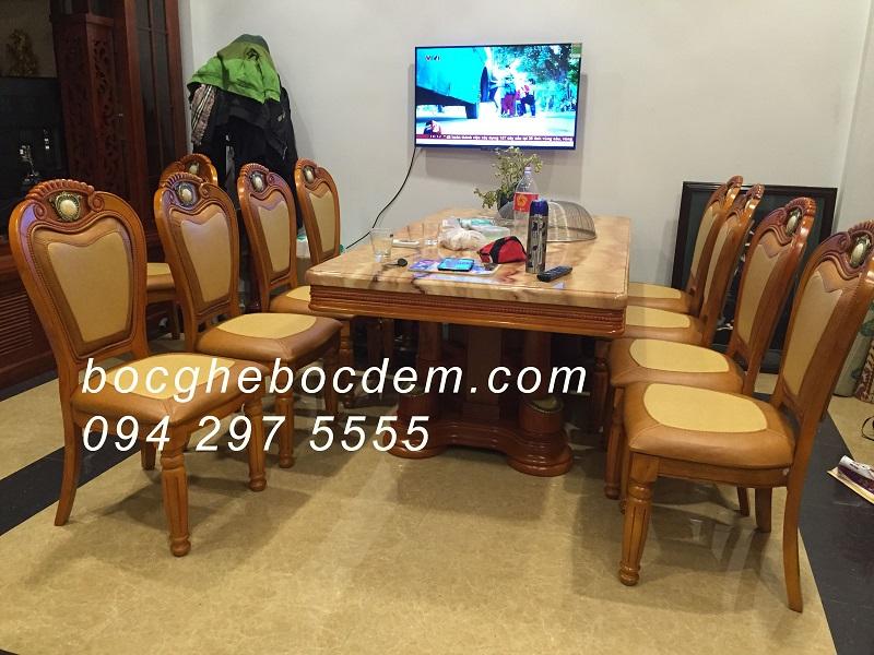bọc ghế ăn nhà anh Đức - Đại từ -Linh đàm