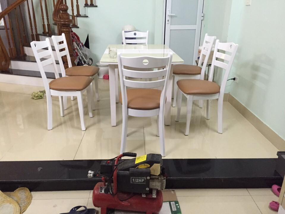 bọc ghế ăn nhà chi hiền ngõ 183/24 Phúc Tân - Hoàn kiếm