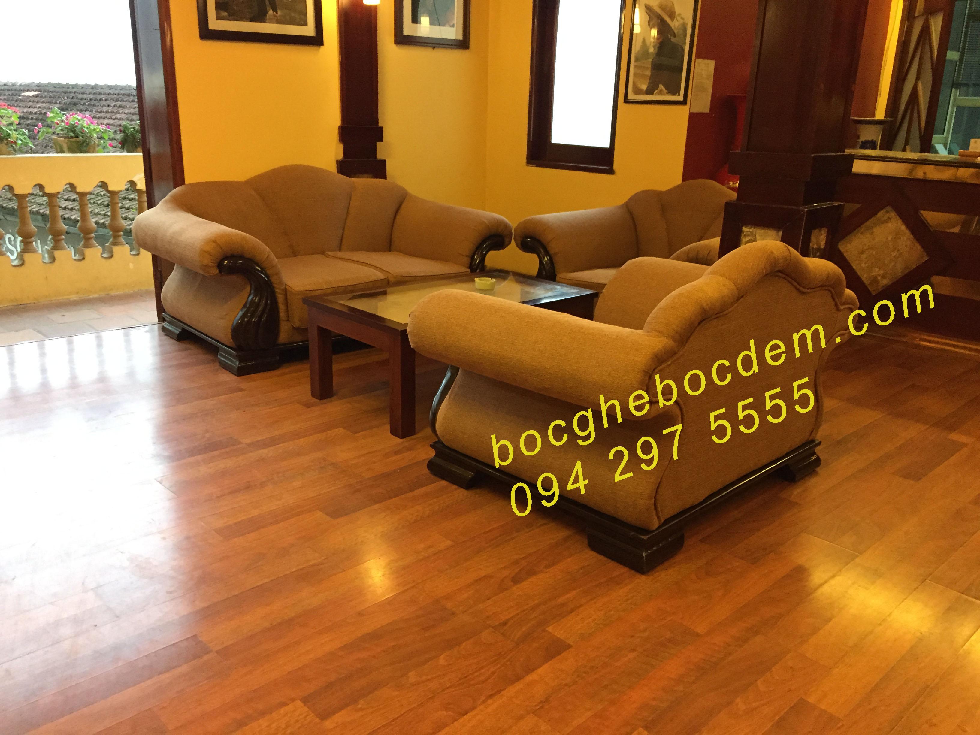 Bọc ghế khách san long châu -sapa