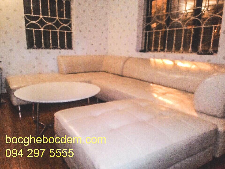Bọc ghế sofa da nhà chi trang ở hồ đắc di