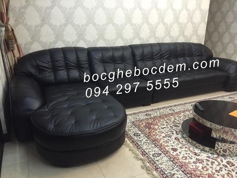 Bọc ghế sofa da-NK1