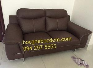 Bọc ghế sofa da nhập khẩu
