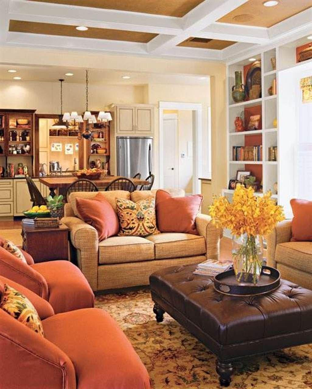 Bọc ghế sofa giá rẻ với gam màu nóng
