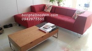 Bọc ghế sofa nỉ nhà cô Nga-Hoàng Quốc Việt