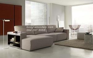 Bọc ghế sofa nỉ nhà chị Hường- Keangnam