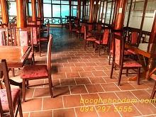 bọc lại ghế ăn nhà hàng 672 quang trung- hà đông