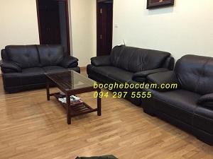 bọc lại ghế sofa nhà cô Liên 17T2 Hoàng Đạo Thúy