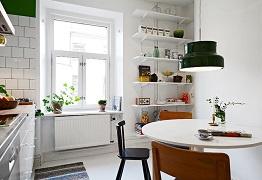 Cách chọn bàn ghế ăn cho phòng bếp gọn gàng