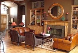 Cách trang trí nhà đẹp đơn giản với nội thất màu chocolate