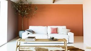 Gam màu sắc nổi bật kết hợp với ghế sofa - Phần I