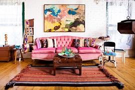 Ghế Sofa Màu Hồng – Điểm Nhấn Hoàn Hảo Không Chỉ Dành Riêng Cho Các Cô Nàng Nữ Tính