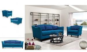 Ghế sofa nỉ đẹp- M177