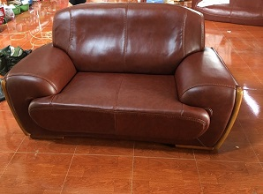 Bọc ghế sofa đơn đẹp nhà chị Nguyệt quận Hà Đông