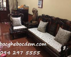 Làm mới đệm ghế cho phòng khách nhà bạn tại Hà Nội