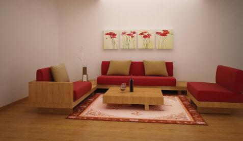 Những kiểu dáng sofa hợp với bàn trà hiện đại