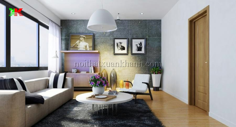 Nội thất riêng dành cho 3 loại chung cư