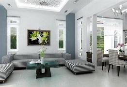 Phối màu nội thất phòng khách - Bật mí tip phối màu từ chuyên gia
