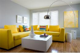 Tổng hợp những mẫu ghế sofa màu vàng hot nhất mùa hè năm 2018