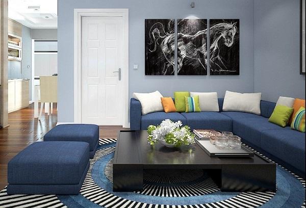 Ý tưởng tuyệt vời cho sofa phòng khách phong cách 2017