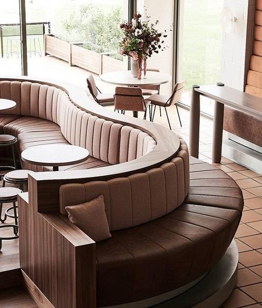 Nội thất nhà hàng đẹp - Sảnh chờ nhà hàng