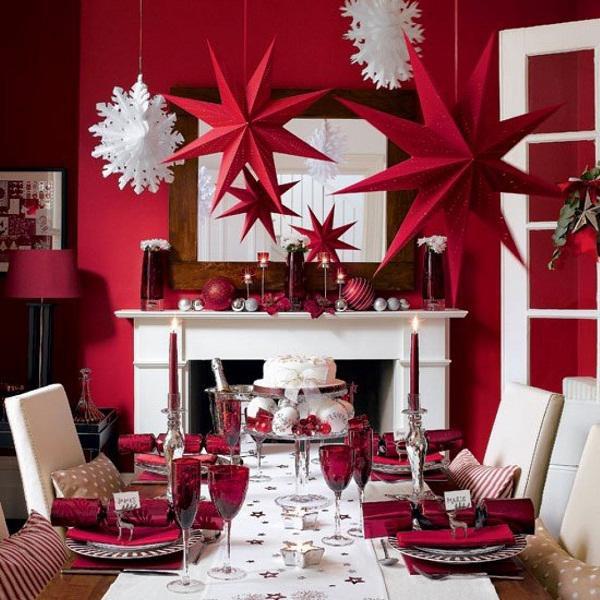 Chào đón giáng sinh bằng vài thay đổi nhỏ trong căn phòng khách nhà bạn
