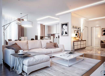 10 bí quyết trang trí cho phòng khách của bạn