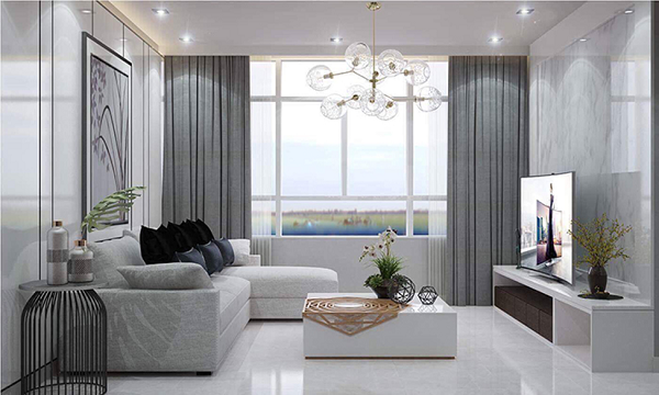 5 mẫu phòng khách hiện đại đầy phong cách