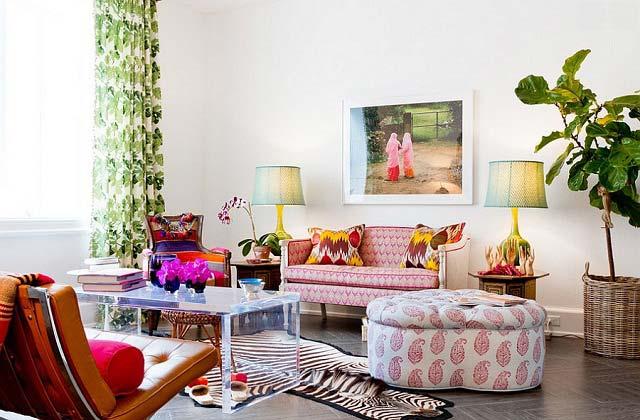 7 Ý tưởng phối màu cho ghế sofa