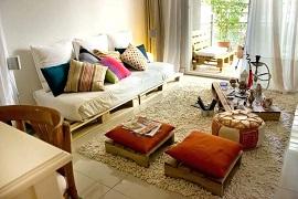 8 Mẫu Sofa Sang Chảnh Đủ Sắc Màu Được Làm Bằng Gỗ Pallet