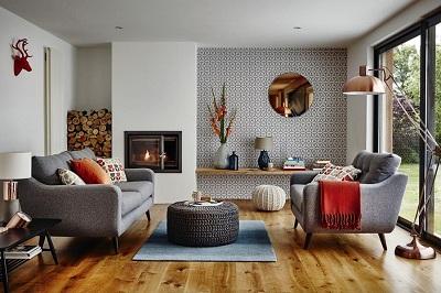Bày trí sofa và lựa chọn màu sắc sofa theo hướng phong thủy