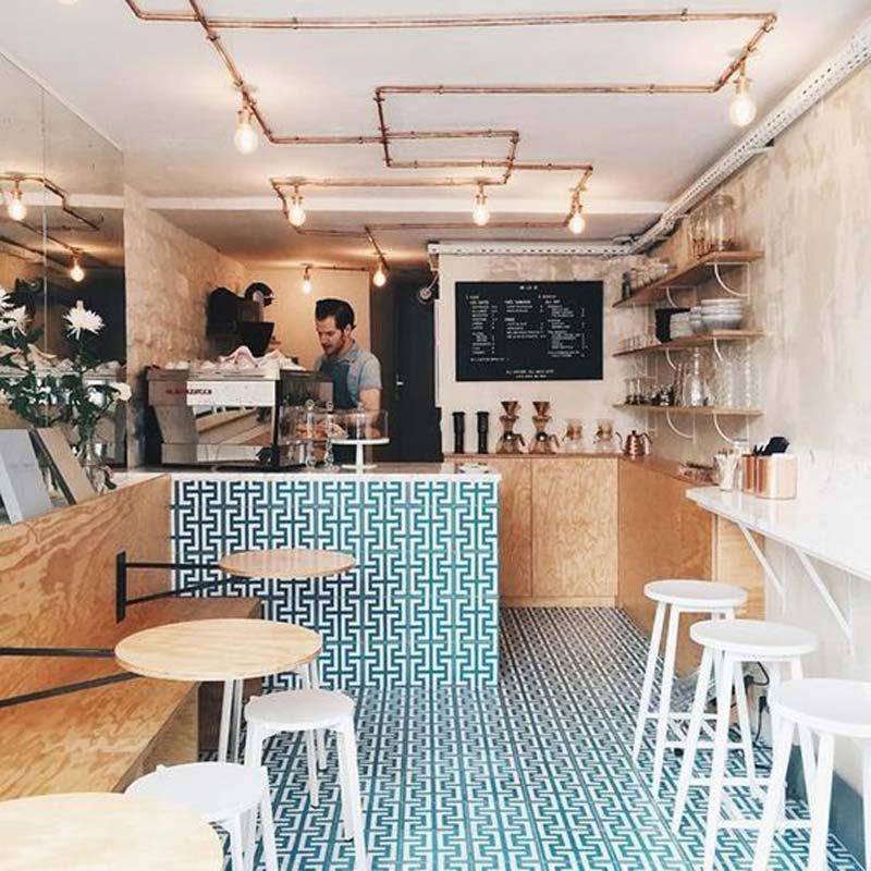 Bỏ túi các cách thiết kế quán cafe nhỏ