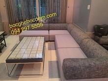 Bọc Ghế, Thay Mới Bộ Ghế Sofa Nhập Khẩu Từ Châu Âu Nhà Bác Quang - Bạch Đằng