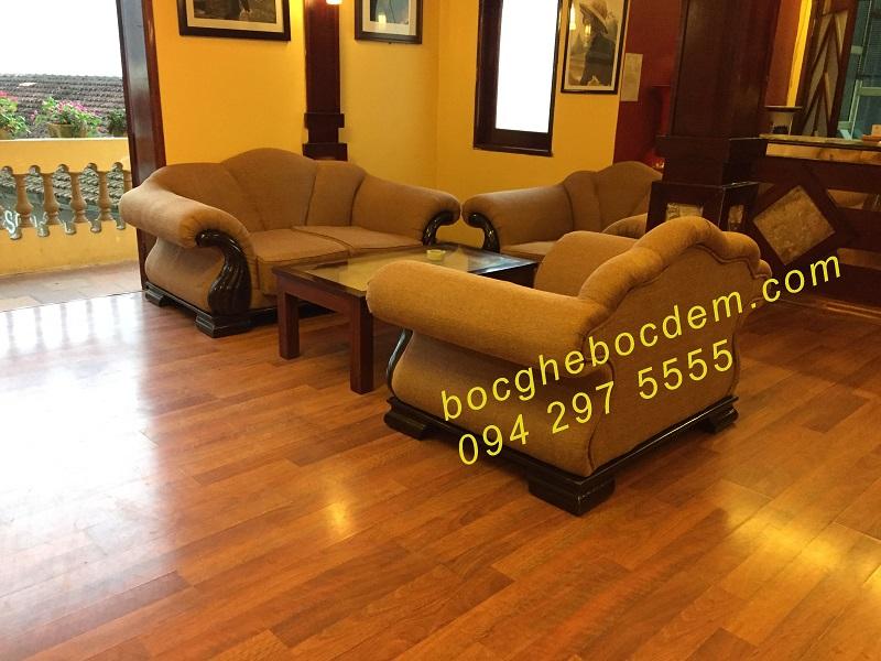 Bọc ghế khách sạn long châu -sapa