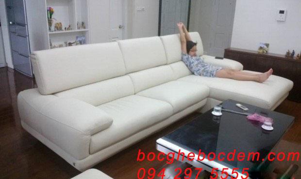 Bọc ghế sofa chị Hồng- Đại cổ việt