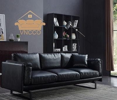 Bọc Ghế Sofa Cũ Như Mới Với Gam Màu Đen Quyền Lực