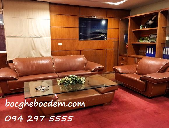Bọc ghế sofa đẹp nhà Chị Ánh quận Ba Đình