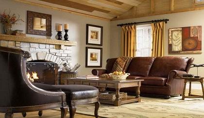 Bọc ghế sofa theo phong cách đồng quê