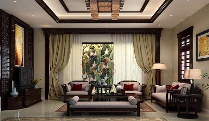 Bọc ghế sofa tại theo phong cách Đông Dương