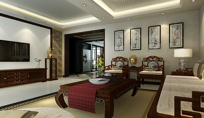 Bọc ghế sofa: Thiết kế theo Phong cách Á Đông