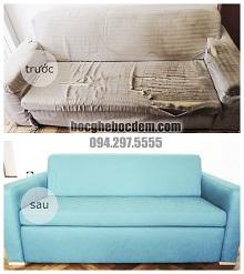 Bọc Ghế Sofa Trơn Đang Được Ưa Chuộng Trong Nhiều Gia Đình Đầu Tháng 4