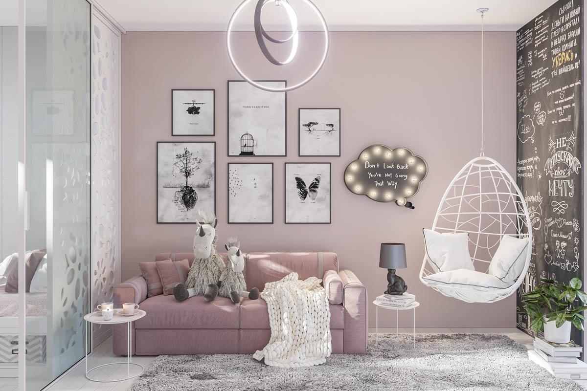 Các mẫu ghế sofa phù hợp cho phòng ngủ cho nữ giới