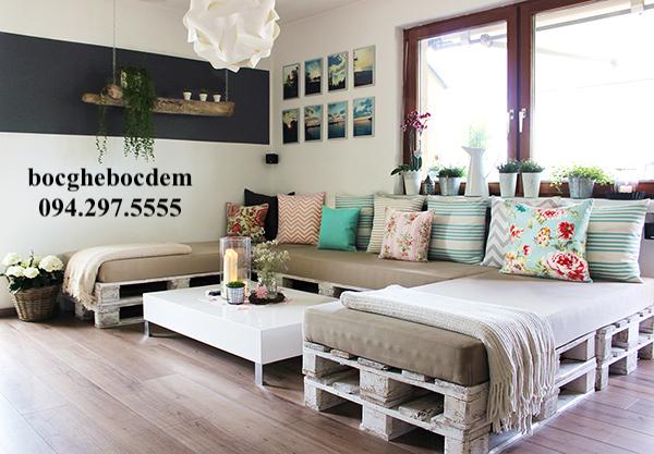 Cách chọn đệm ghế dài kiểu nhật cho sofa gỗ nhà bạn