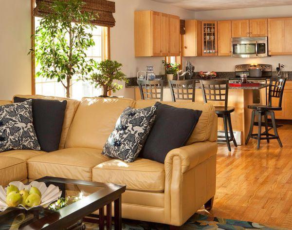 Cách chọn màu đệm ghế phù hợp cho phòng khách