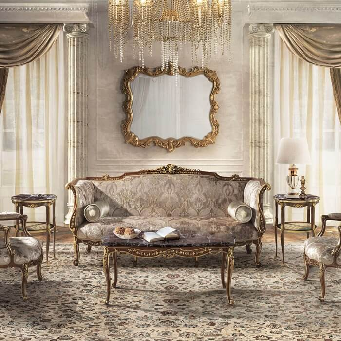 Cách chọn và ưu điểm ghế sofa cổ điển Châu Âu