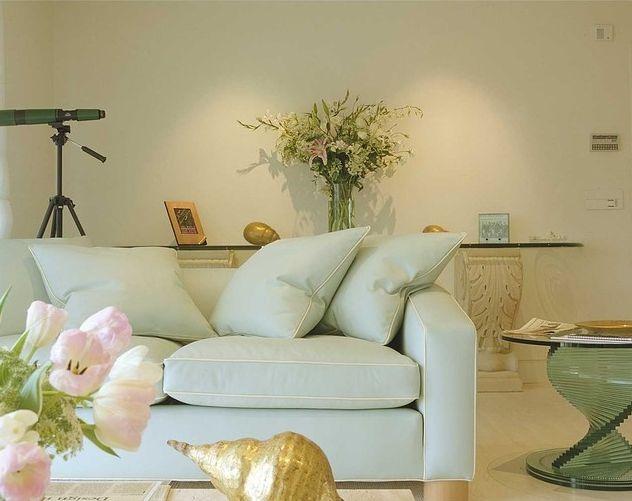 Cách phối hợp ghế sofa màu pastel dành cho phòng khách của bạn