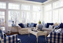 Cách sử dụng họa tiết caro trong trang trí nội thất